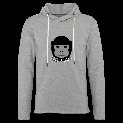 Gorilla Gang Original Insignia - Unisex Lightweight Terry Hoodie