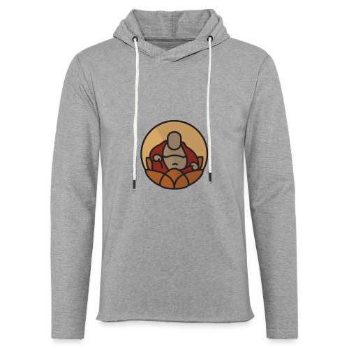 AMERICAN BUDDHA CO. COLOR - Unisex Lightweight Terry Hoodie