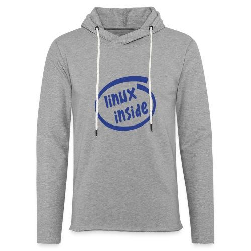 linux inside - Unisex Lightweight Terry Hoodie