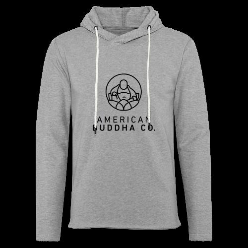 AMERICAN BUDDHA CO. ORIGINAL - Unisex Lightweight Terry Hoodie
