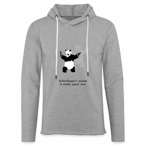 Schrödinger's panda is really upset now - Unisex Lightweight Terry Hoodie