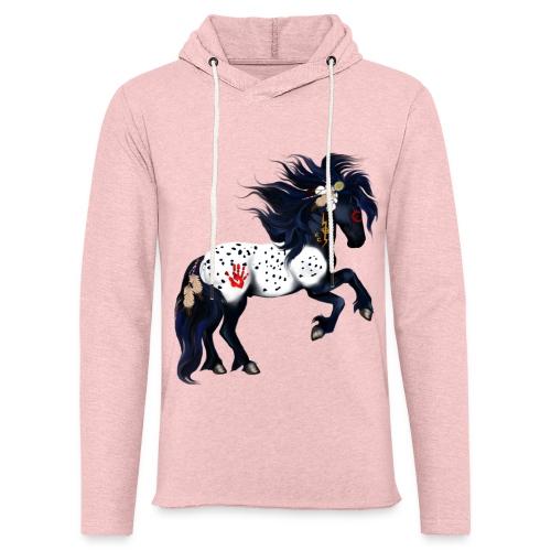 Appaloosa War Pony - Unisex Lightweight Terry Hoodie