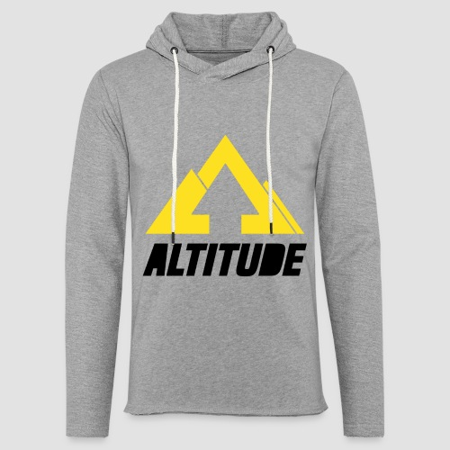 Empire Collection - Yellow 2 - Unisex Lightweight Terry Hoodie