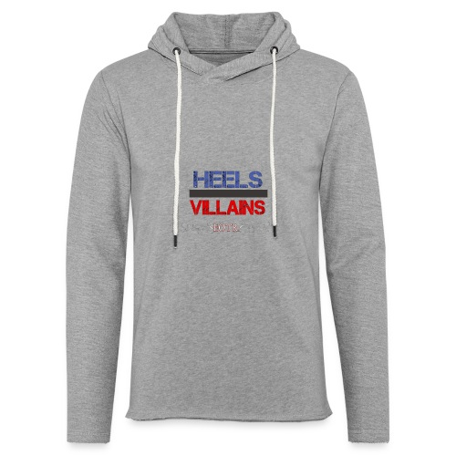 Eyes on the Ring Heels/Villains - Unisex Lightweight Terry Hoodie