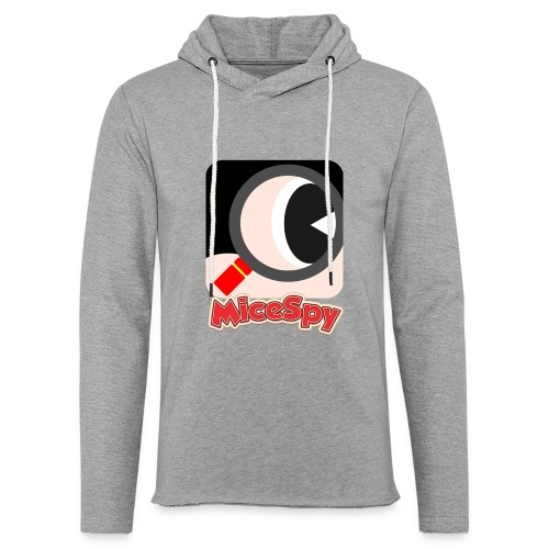 MiceSpy with your eye! - Unisex Lightweight Terry Hoodie