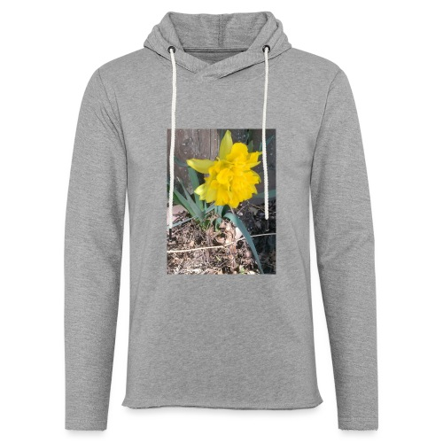 YELLOWFLOWER by S.J.Photography - Unisex Lightweight Terry Hoodie