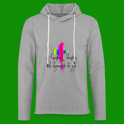 Another Gay Christian - Unisex Lightweight Terry Hoodie