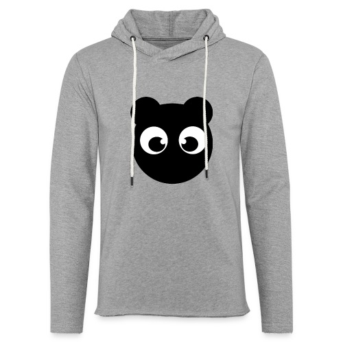 BearBun - Black - Unisex Lightweight Terry Hoodie