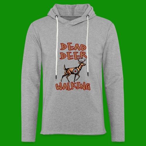 Dead Deer Walking - Unisex Lightweight Terry Hoodie