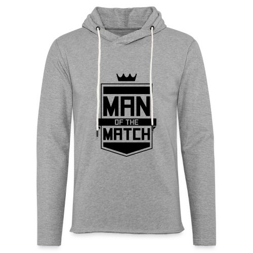 Man of the Match - Unisex Lightweight Terry Hoodie