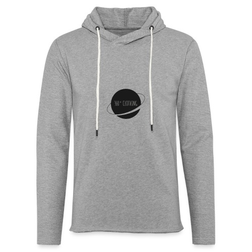 360° Clothing - Unisex Lightweight Terry Hoodie
