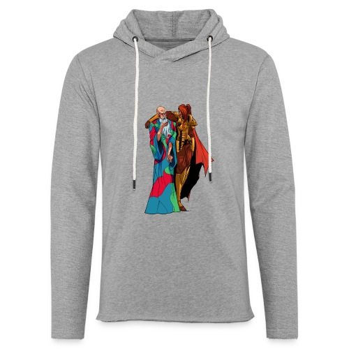 anjelicaPRO png - Unisex Lightweight Terry Hoodie