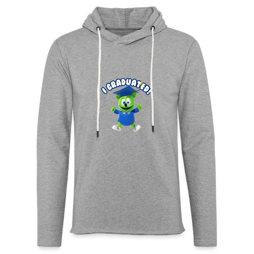 I Graduated! Gummibar (The Gummy Bear) - Unisex Lightweight Terry Hoodie