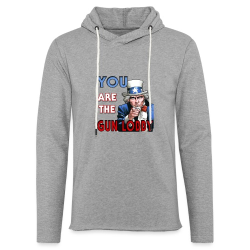 YOU Are The Gun Lobby - Unisex Lightweight Terry Hoodie