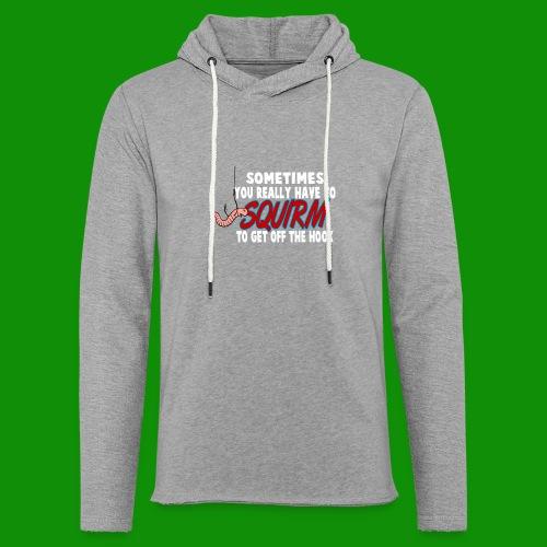 Squirmin' - Unisex Lightweight Terry Hoodie