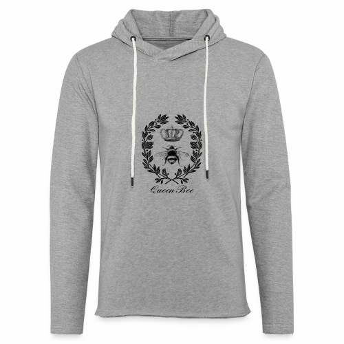Vintage Queen Bee - Unisex Lightweight Terry Hoodie