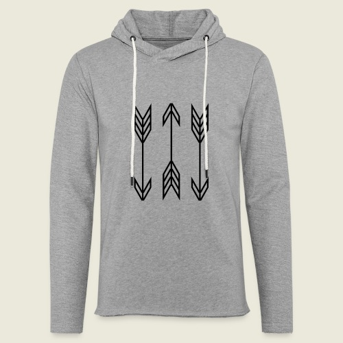 arrow symbols - Unisex Lightweight Terry Hoodie