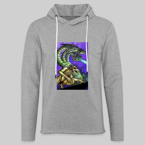 Hydra and Demon - Unisex Lightweight Terry Hoodie