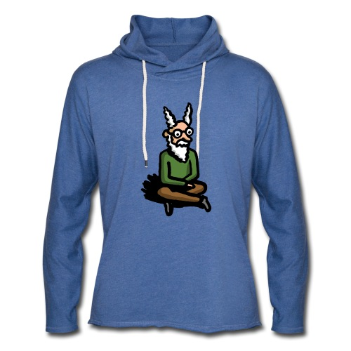 The Zen of Nimbus t-shirt / Nimbus in color - Unisex Lightweight Terry Hoodie