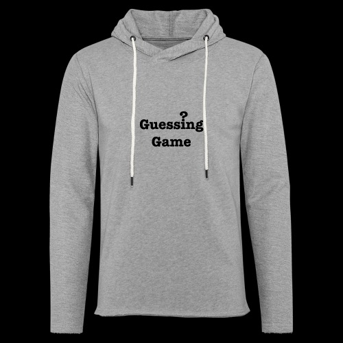 Question - Unisex Lightweight Terry Hoodie