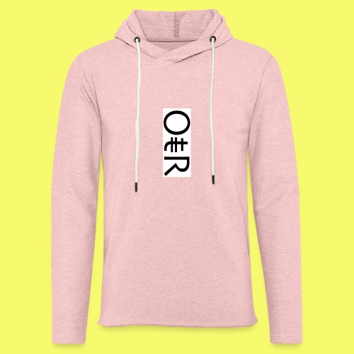 OntheReal ice - Unisex Lightweight Terry Hoodie
