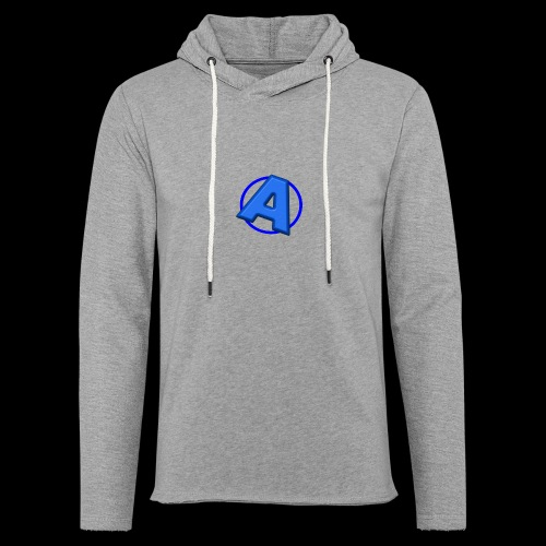Awesomegamer Logo - Unisex Lightweight Terry Hoodie