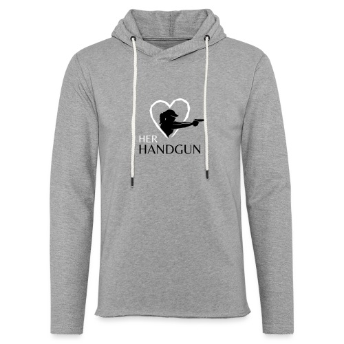 Official HerHandgun Logo - Unisex Lightweight Terry Hoodie