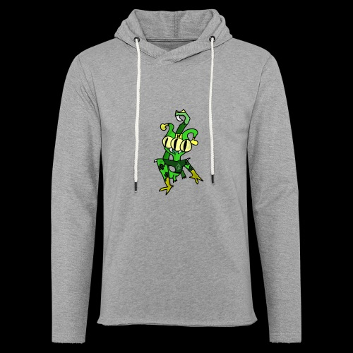Three-Eyed Alien - Unisex Lightweight Terry Hoodie