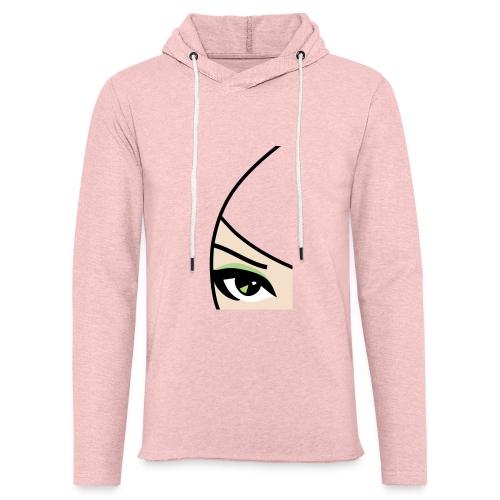 Banzai Chicks Single Eye Women's T-shirt - Unisex Lightweight Terry Hoodie