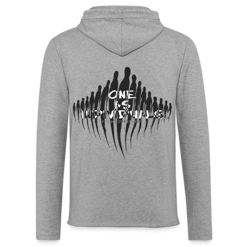 one as individuals - Unisex Lightweight Terry Hoodie