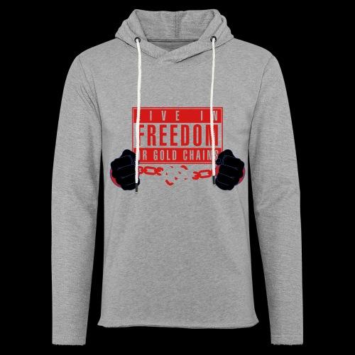 Live Free - Unisex Lightweight Terry Hoodie