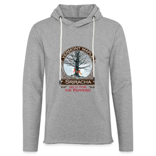 Vermont Maple Sriracha - Unisex Lightweight Terry Hoodie