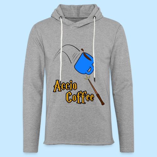 Accio Coffee! (Double Sided) - Unisex Lightweight Terry Hoodie