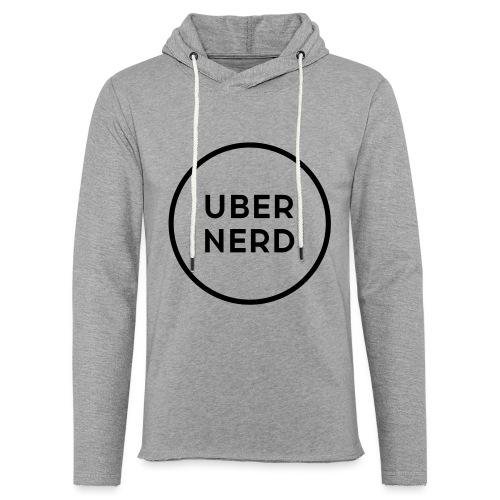 uber nerd logo - Unisex Lightweight Terry Hoodie