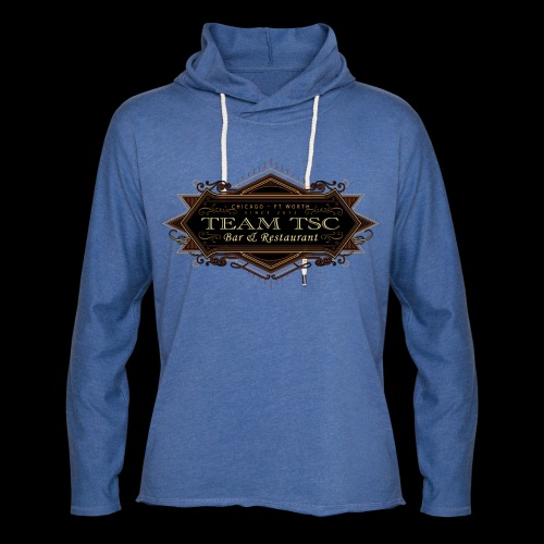 teamTSC badge03 Bar - Unisex Lightweight Terry Hoodie