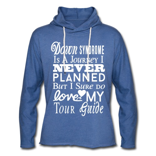 Down syndrome Journey - Unisex Lightweight Terry Hoodie