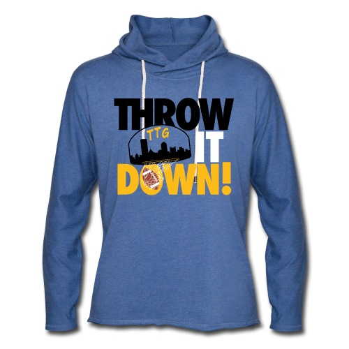 Throw it Down! (Turnover Dunk) - Unisex Lightweight Terry Hoodie