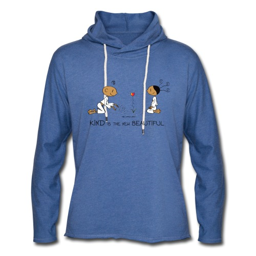Kind is the new beautiful - Unisex Lightweight Terry Hoodie