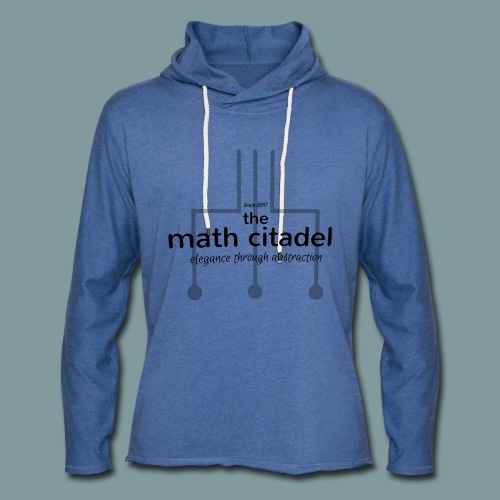 Abstract Math Citadel - Unisex Lightweight Terry Hoodie