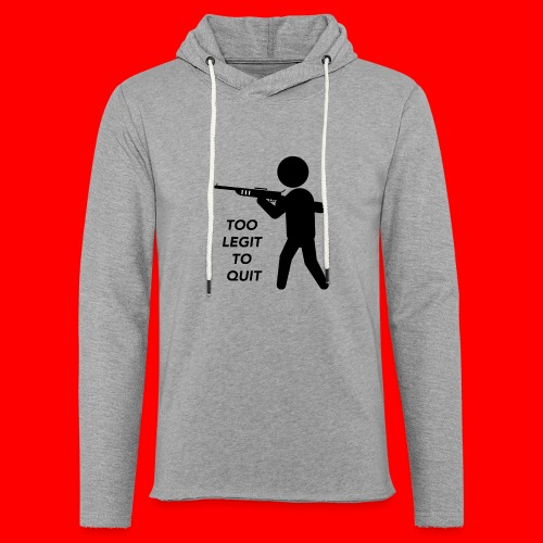 OxyGang: Too Legit To Quit Products - Unisex Lightweight Terry Hoodie