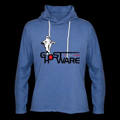 Ghostware Wide Logo - Unisex Lightweight Terry Hoodie