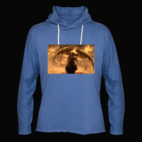 Dragon féroce - Unisex Lightweight Terry Hoodie