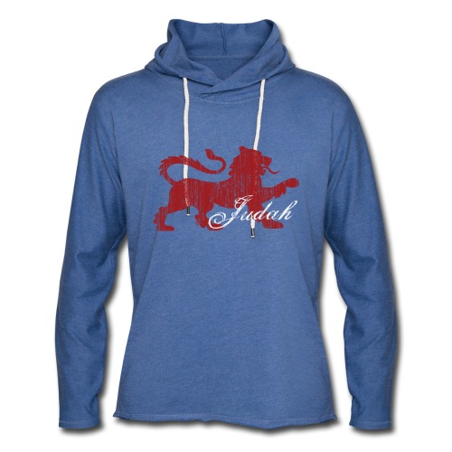 The Lion of Judah - Unisex Lightweight Terry Hoodie