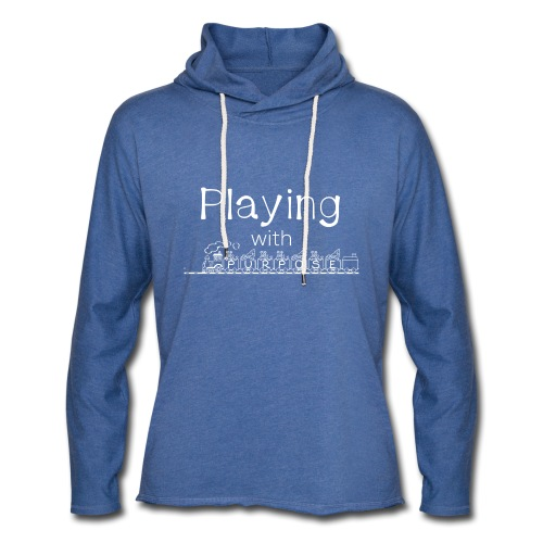 Playing With Purpose shirt - Unisex Lightweight Terry Hoodie