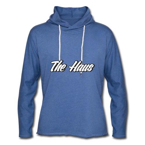 The Haus Logo - Unisex Lightweight Terry Hoodie