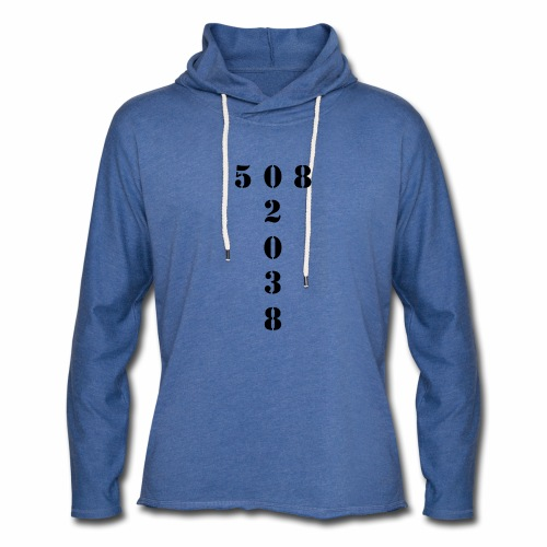 508 02038 franklin area/zip code - Unisex Lightweight Terry Hoodie