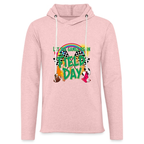Field Day Games for SCHOOL - Unisex Lightweight Terry Hoodie