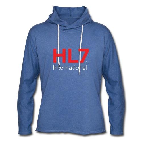 HL7 International Logo - Reverse - Unisex Lightweight Terry Hoodie