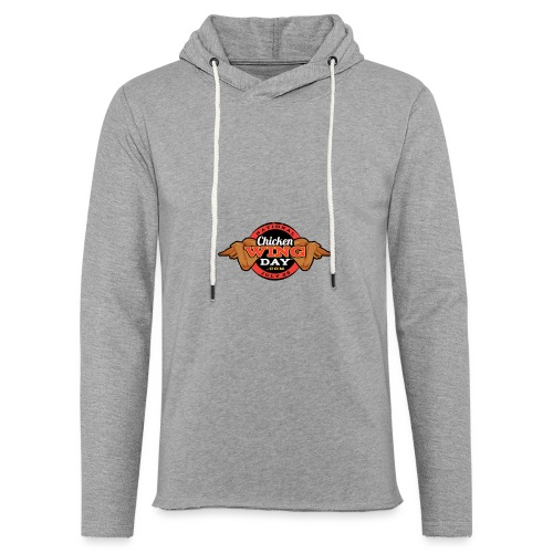 Chicken Wing Day - Unisex Lightweight Terry Hoodie