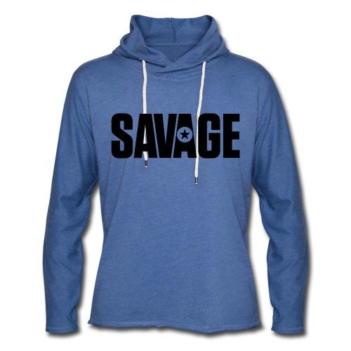 SAVAGE - Unisex Lightweight Terry Hoodie